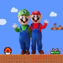 Super Mario - Mario Bros. Mascot Costume for Adults