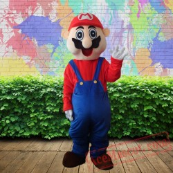 Super Mary Mascot Costume for Adults