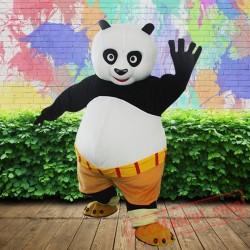 Kungfu Panda Mascot Costume for Adults