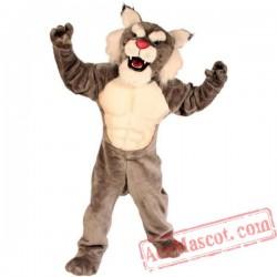 Wildcat Power Cat Mascot Costume