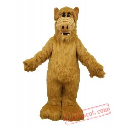 Alf Adult Mascot Costume Halloween Monster Costume