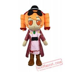 Yuru Girl Mascot Costume