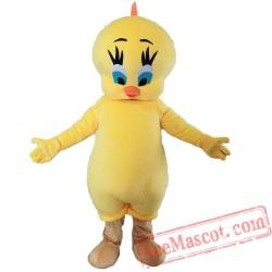 Adults Tweety Bird Mascot Costume
