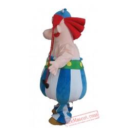 Asterix Obelix Cosplay Mascot costums