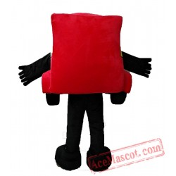 Adult Lighting McQueen Car Mascot Costume