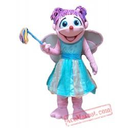 Abby Caddaby Mascot Costume Cartoon Costumes