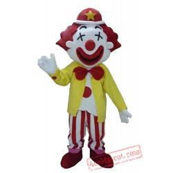 Adult Clown Mascot Costume Character Mascots