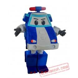 Adult Robocar Poli Mascot Costume