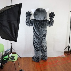 Wildcat Raccoon Mascot Costume