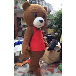 Advertising Teddy Bear Mascot Costume