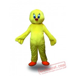 Adult Yellow Chicken Mascot Costume