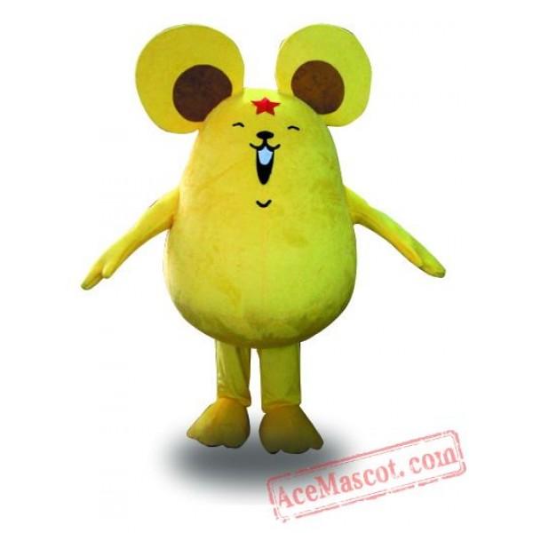 Adult Big Mouse Mascot Costume