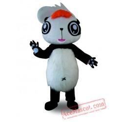 Adult Panda Mascot Costume