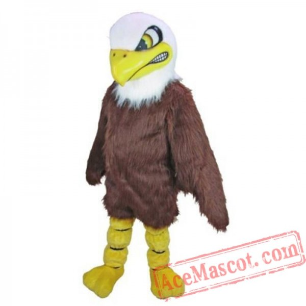 Adult Bird Baldy The Eagle Mascot Costume