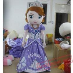 Adult First Princess Mascot Costume
