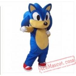 Adult Sonic Hedgehog Mascot Costume