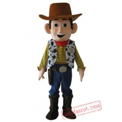Woody Cartoon Mascot Costume