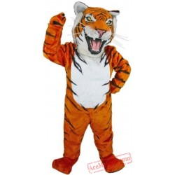 Grey Tiger Mascot Costume