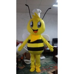 Adult Animal Cosplay Bee Mascot Costume