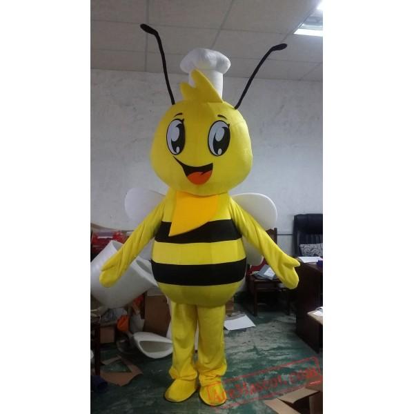 Adult Animal Cosplay Bee Mascot Costume