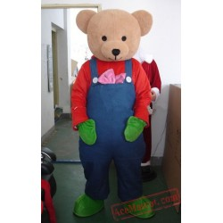 Adults Teddy Bear Mascot Costume