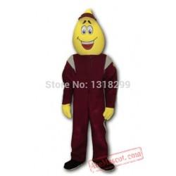 Yellow Drop Dots Mascot Costume