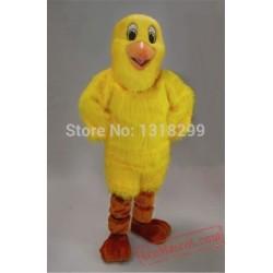 Yellow Chick Chicken Mascot Costume