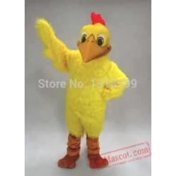 Yellow Doodle Doo Chicken Mascot Costume