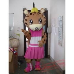 Animal Leopard Cartoon Mascot Costume