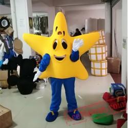 Yellow Star Mascot Costume