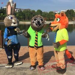 Zootopia Judy Mascot Costume