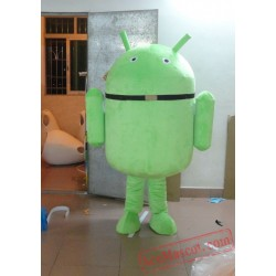 Android Robot Mascot Costume