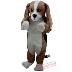 Basset Hound Mascot Costume