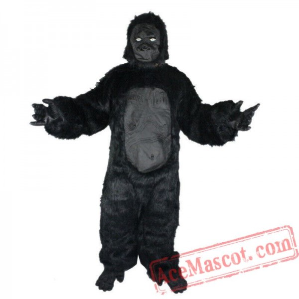 Gorilla Fursuit Mascot Costume