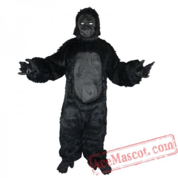 Gorilla Fursuit Mascot Costume