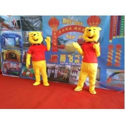 Winnie Bear Mascot Costume