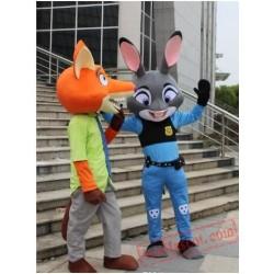 Wolf / Rabbit Mascot Costume