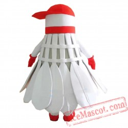 Ads Shuttlecock Badminton Mascot Costume
