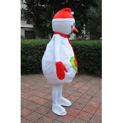 Adults Snow Man Mascot Costume