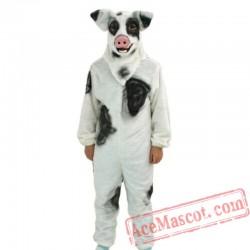 Adult Pig Mascot Costume