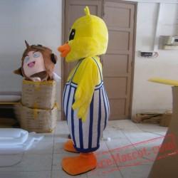 Yellow Duck Mascot Costumes
