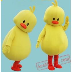 Yellow Duck Mascot Coutume