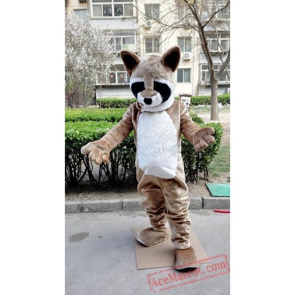 Raccoon Fursuit Mascot Costume