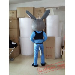 Zootopia Judy Rabbit Mascot Costume for Adult