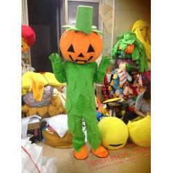 Halloween Pumpkin Mascot Costume for Adult