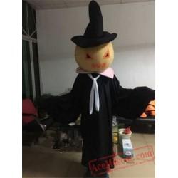Halloween Horror Pumpkin Mascot Costume for Adult