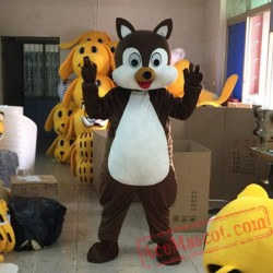 Squirrel Mascot Costume for Adult