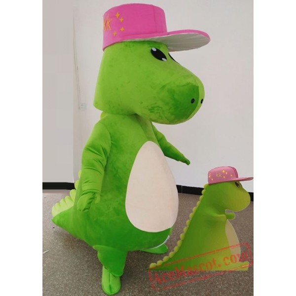 Dinosaur T-Rex Mascot Costume for Adult