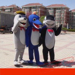 Seal Dolphin Shark Mascot Costume for Adult