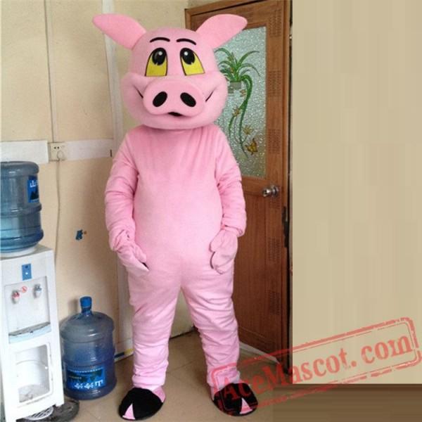 Pig Mascot Costume for Adult
